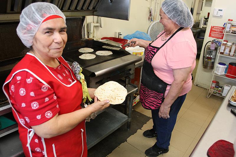 Tortilleras
