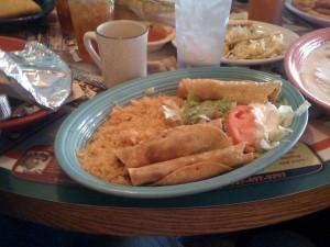 Taquito Plate