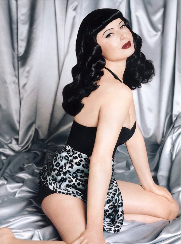 Isabella Rossellini as the Late, Great Bettie Page